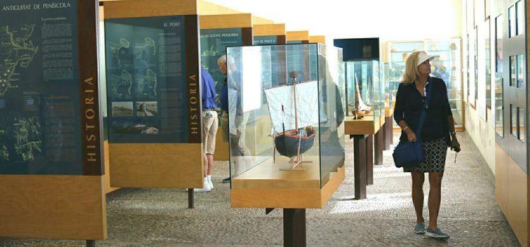 Més de 44.000 persones han visitat el Museu de la Mar de Peñíscola fins a juliol de 2019