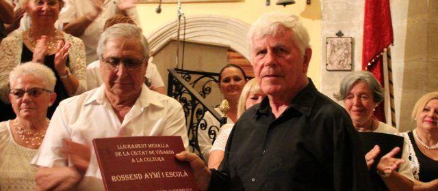 La García Julbe de Vinaròs ofreció un emotivo concierto en Xert  en homenaje a su director Rossend Aymí