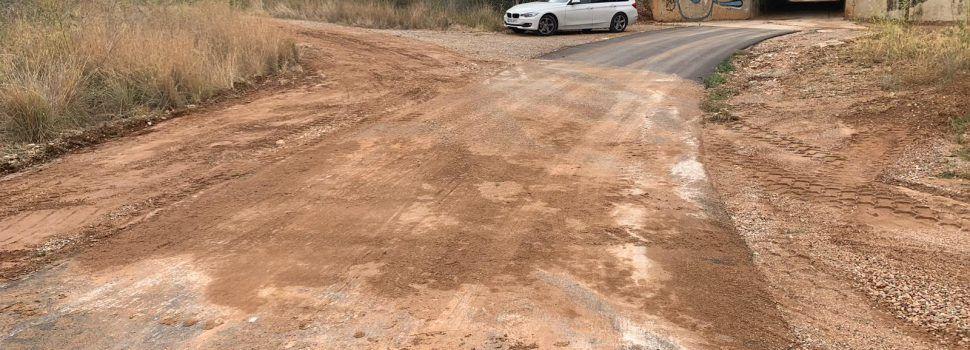 La Diputació reparen camins malmesos per la pluja a Santa Magdalena