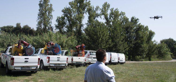La Diputació de Castelló comença els tractaments contra els mosquits en el sector nord