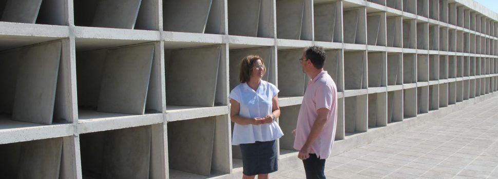 Finalitzen les obres de la segona fase d'ampliació del cementeri de Benicarló