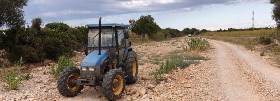 Vinaròs continua amb les feines de neteja de barrancs, rieres i embornals