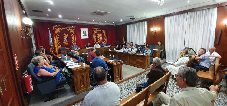 Ple ordinari de setembre a Vinaròs