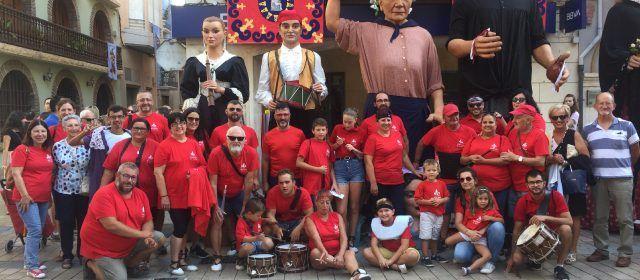 Nanos i Gegants de Vinaròs a les Quinquennals d'Ulldecona
