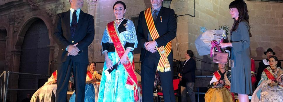 La reina de Vinaròs, dama en la proclamació de festes d'Alcanyís