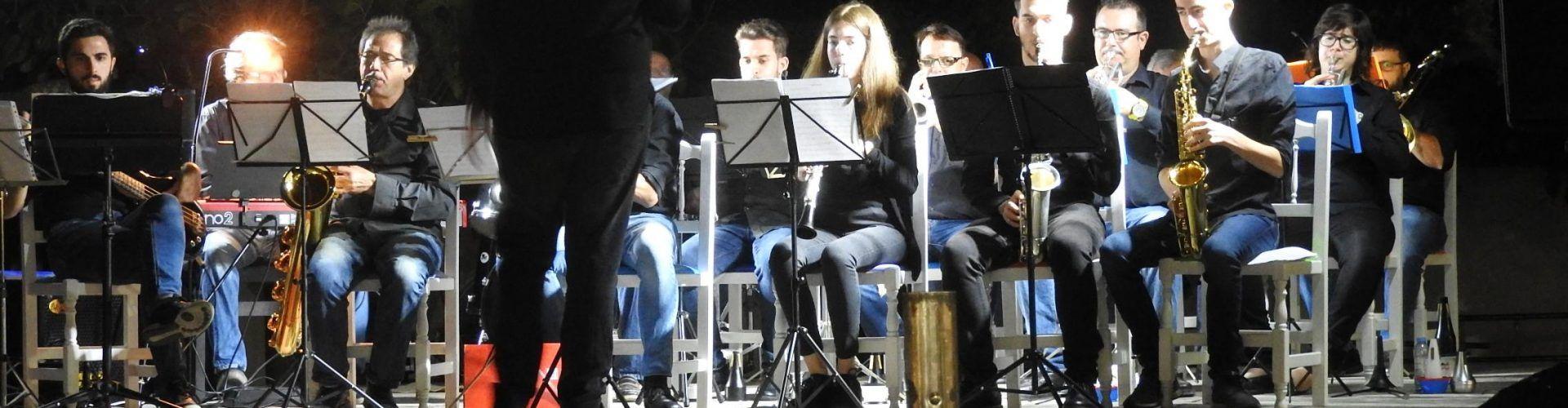 La Big Band d'Alcanar, a Vinaròs, en vídeos