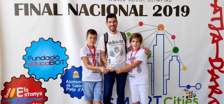 El Colegio ISP International School de Peñíscola se alza con un primer premio de robótica a nivel nacional