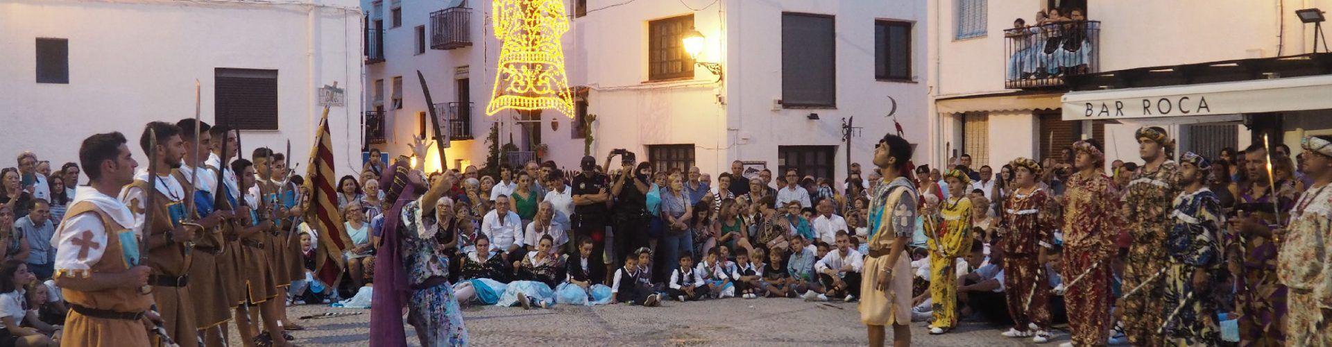 Peñíscola concluye el Día de la Patrona con la Danza Batalla de Moros y Cristianos