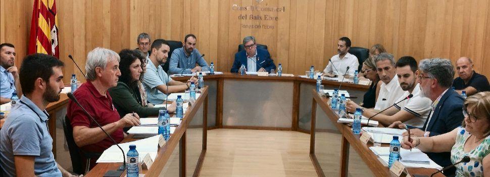 El ple del Consell Comarcal del Baix Ebre aprova una moció de suport a la festa dels bous