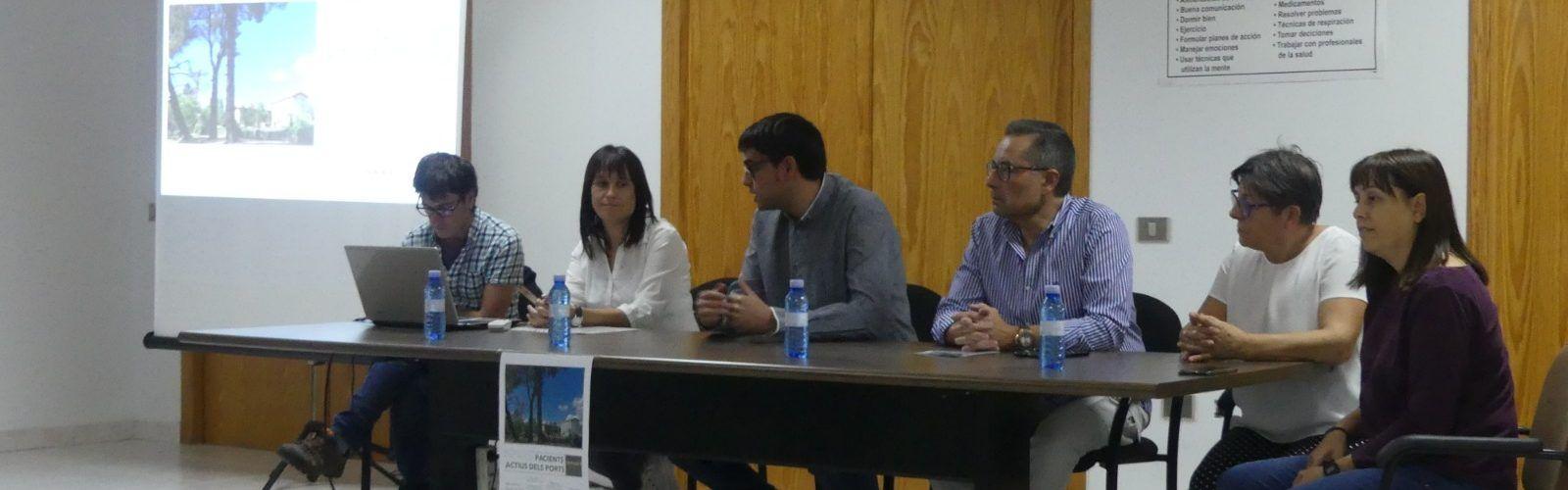 Gran participació de la trobada de pacients actius dels Ports