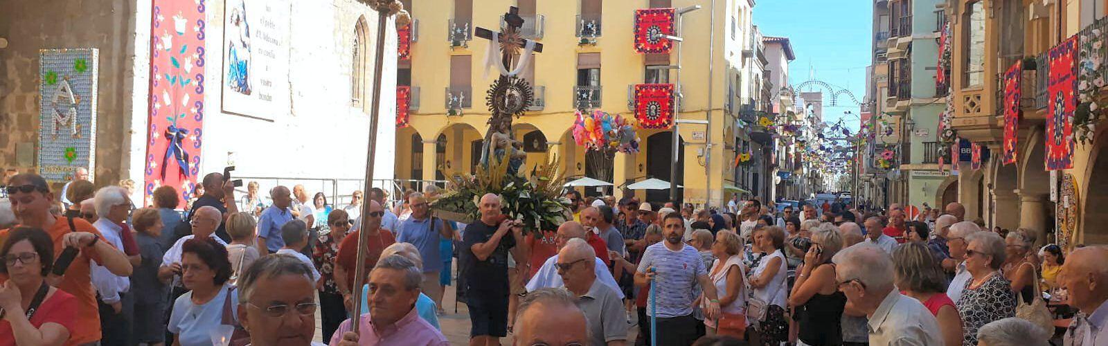 La Pietat d'Ulldecona marxa de visita als barris