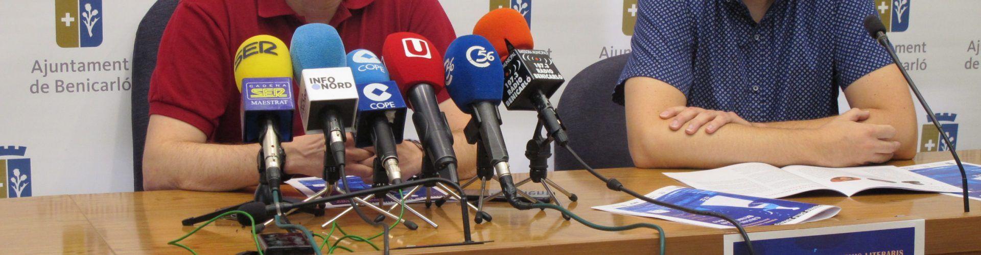 12 experts de reconegut prestigi integraran el jurat dels Premis Literaris de Benicarló