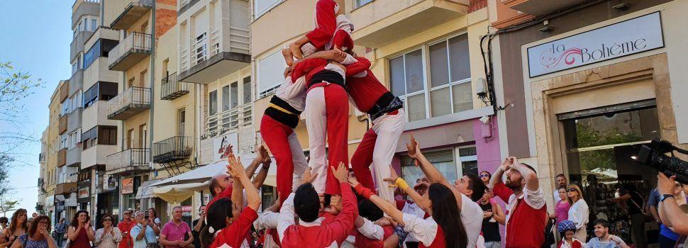Taller-actuació de la Muixeranga de Vinaròs
