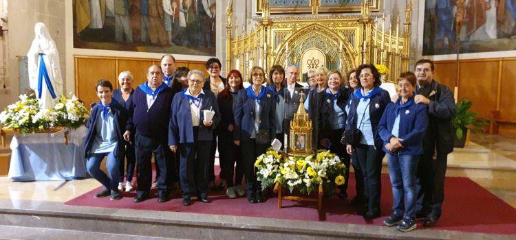 Les relíquies de S.Bernardeta passen per Tortosa, Benicarló i Vinaròs