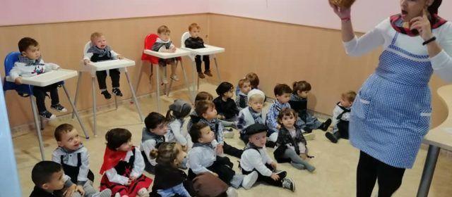 Castanyada al Centre Infantil Les Joguines, de Vinaròs