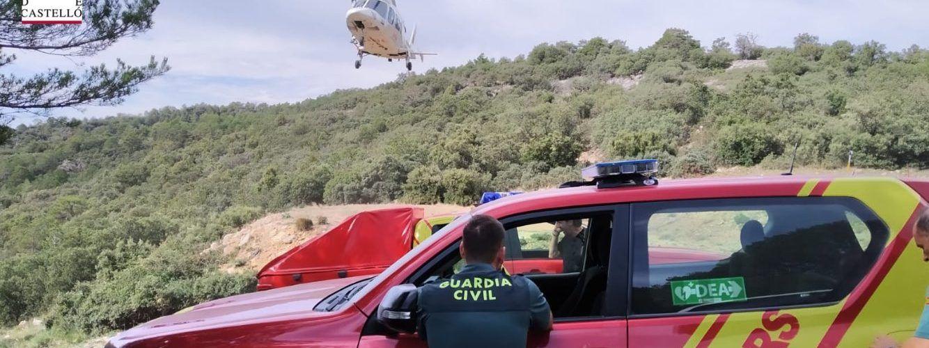 Bomberos localizan en buen estado a una mujer en La Pobla y un hombre en Vallibona, perdidos buscando setas
