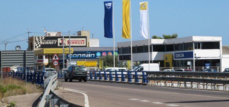 Vinaròs quiere que la cesión municipal de la antigua N-340 sea solo en el tramo urbano