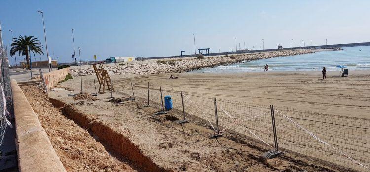 Vinaròs mejora la accesibilidad de las playas
