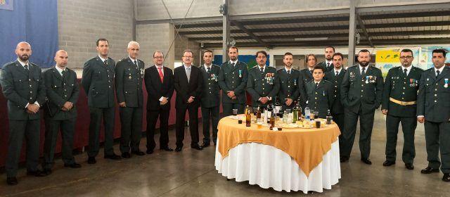 La Guàrdia Civil celebra la festivitat de la seua patrona en Santa Magdalena