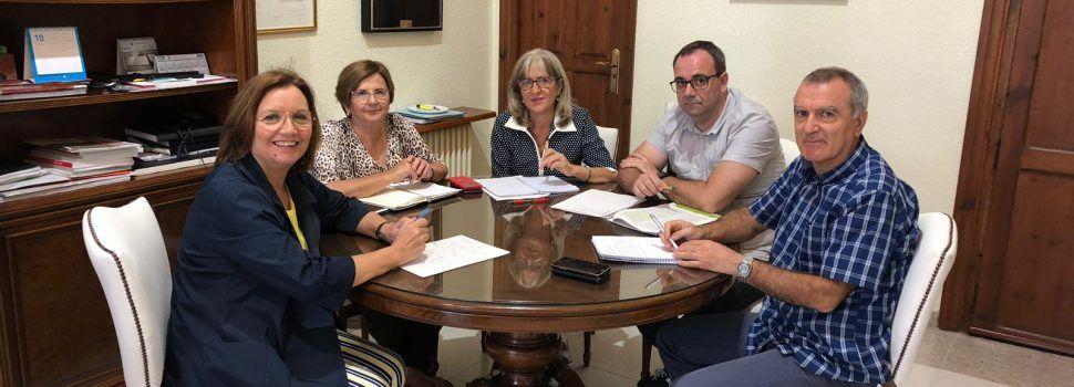 Reunió a Benicarló amb el director territorial d'Agricultura i Medi Ambient