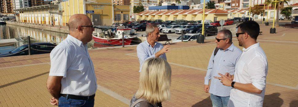 Vinaròs rep la visita del secretari de Ports, Emilio Obiol, per parlar de projectes
