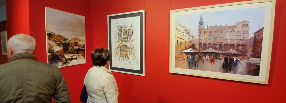 """Exposició del Certamen d'Aquarel·la Puig Roda d'""""Amics de Vinaròs"""""""