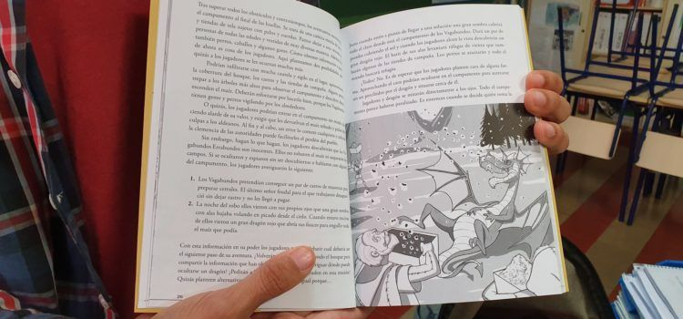 Un professor de l'IES L.Querol de Vinaròs publica una aventura de jocs de rols