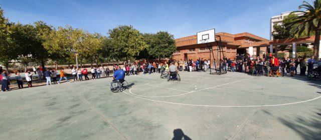 Demostració escolar del BAMESAD de Vinaròs
