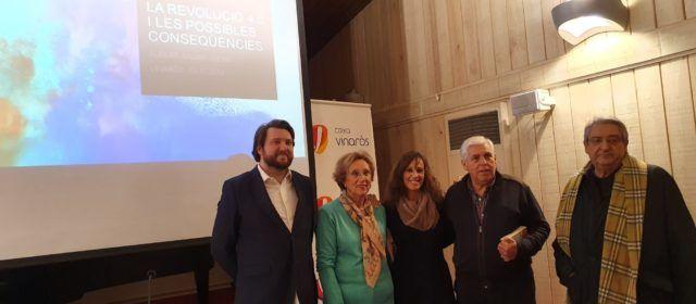 """Albert Milián i """"La revolució 4.0"""" a Caixa Vinaròs"""