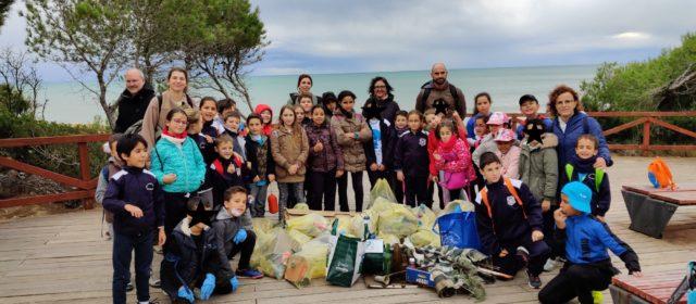 Els escolars de S.Magdalena participa en la jornada ambiental 'Clean Up'