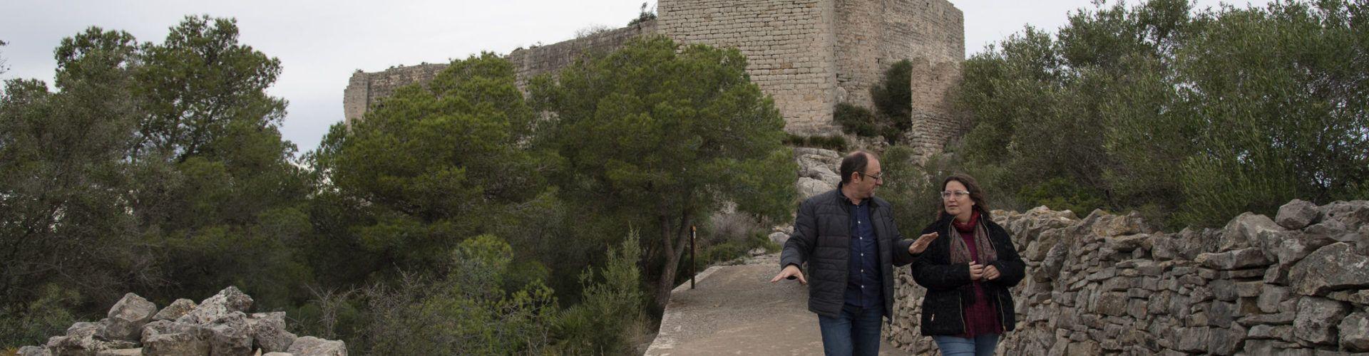 La Diputació recuperarà com a recurs turístic els castells de Xivert i de Polpís sota la marca 'Territori Templer'