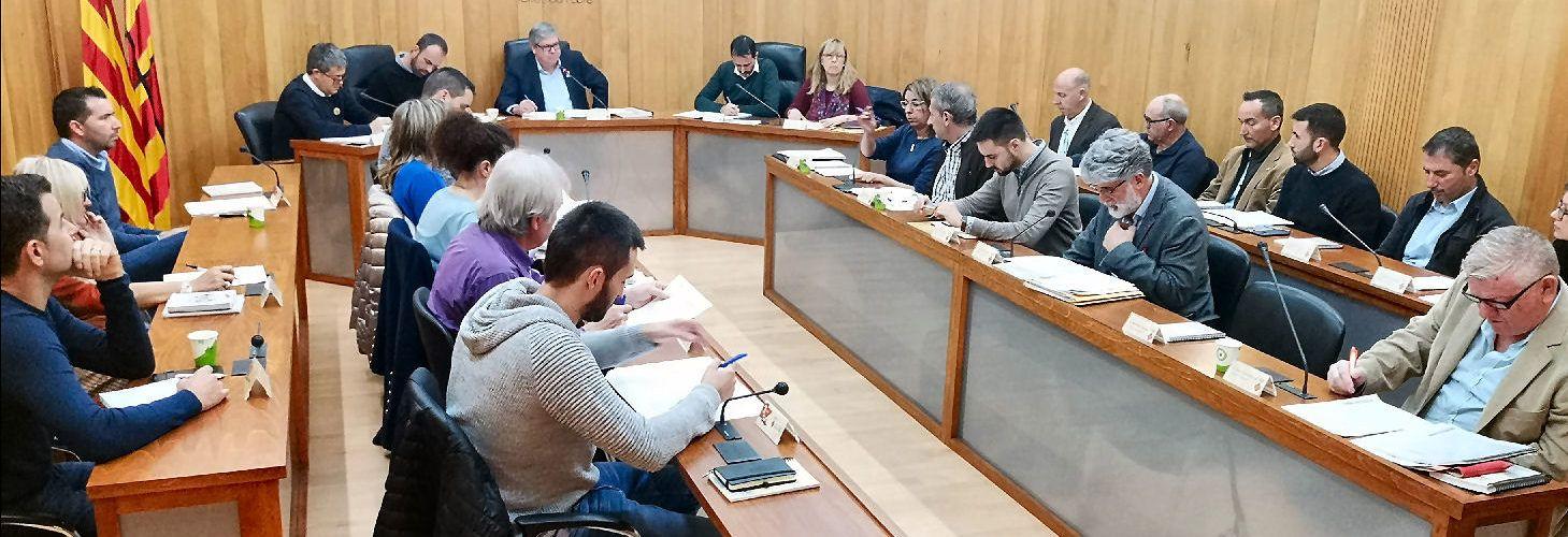 El ple del Consell Comarcal aprova un pressupost de 18 milions d'euros per al 2020