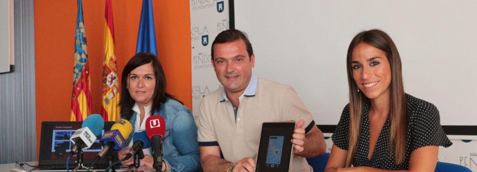 """Más de 2000 usuarios se han descargado la App turística """"Peñíscola Live the game"""" desde su lanzamiento en julio"""