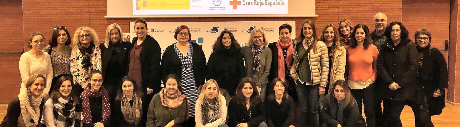 Vinaròs celebra la jornada de formació sobre atenció i protecció de víctimes de violència de gènere ATENPRO