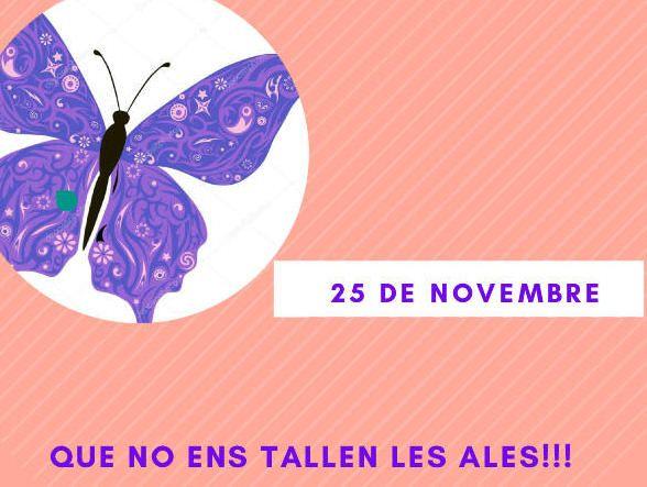 Els centre educatius s'ompliran de papallones per conscienciar sobre la violència de gènere