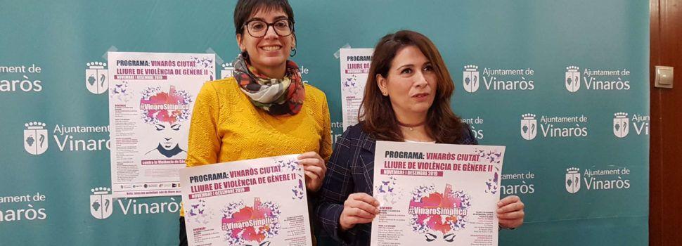 Diversidad de acciones en Vinaròs contra la violencia de género