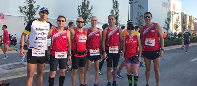 Vinaròs, en la la 29ª Mitja Marató València
