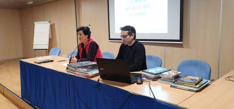 El director de la més important editorial de còmics, a Vinaròs