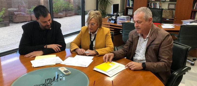 L'alcalde de Vinaròs es reuneix amb la Consellera de Sanitat