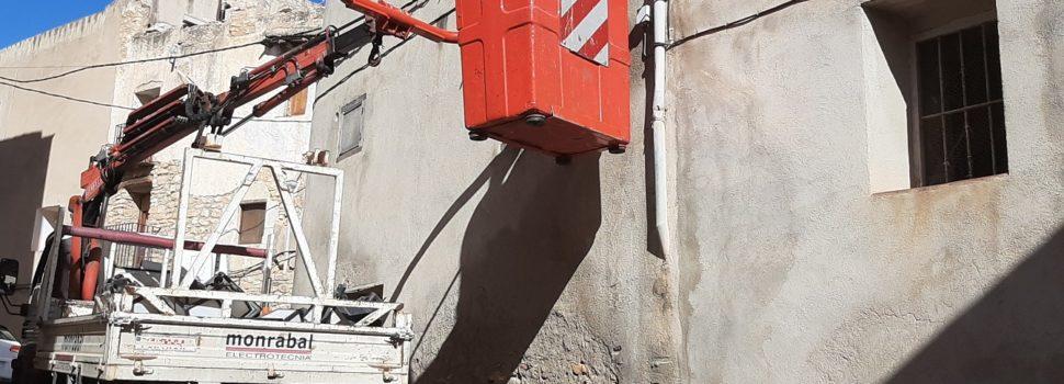 Canet renova el sistema d'enllumenat públic