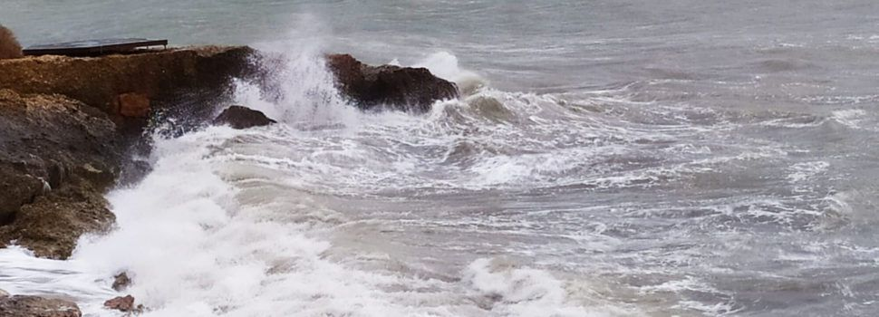 Temporal marítim a Vinaròs