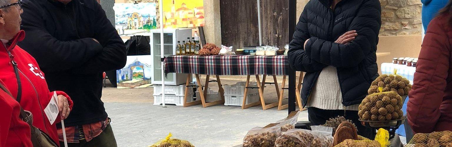 Èxit del segon Mercat de Proximitat a Sant Jordi