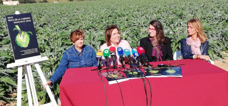 La XXVII Festa de la Carxofa comença a rodar a Benicarló presentant el cartell anunciador