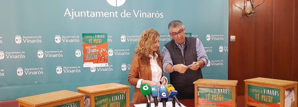 """Comerç reparteix mil euros en la campanya """"Comprar a Vinaròs té premi"""""""