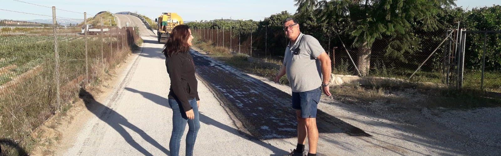 Obres i Serveis millora els camins rurals del terme municipal de Vinaròs