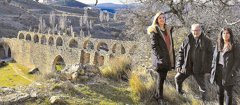 Inyección de diez millones para preservar el acueducto de Morella
