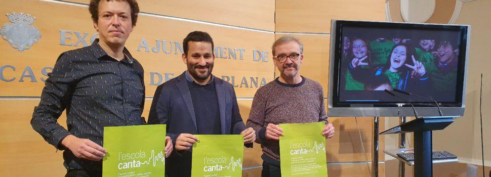 """87 escoles de 36 municipis de Castelló participaran en la tercera edición de """"L'escola canta"""""""
