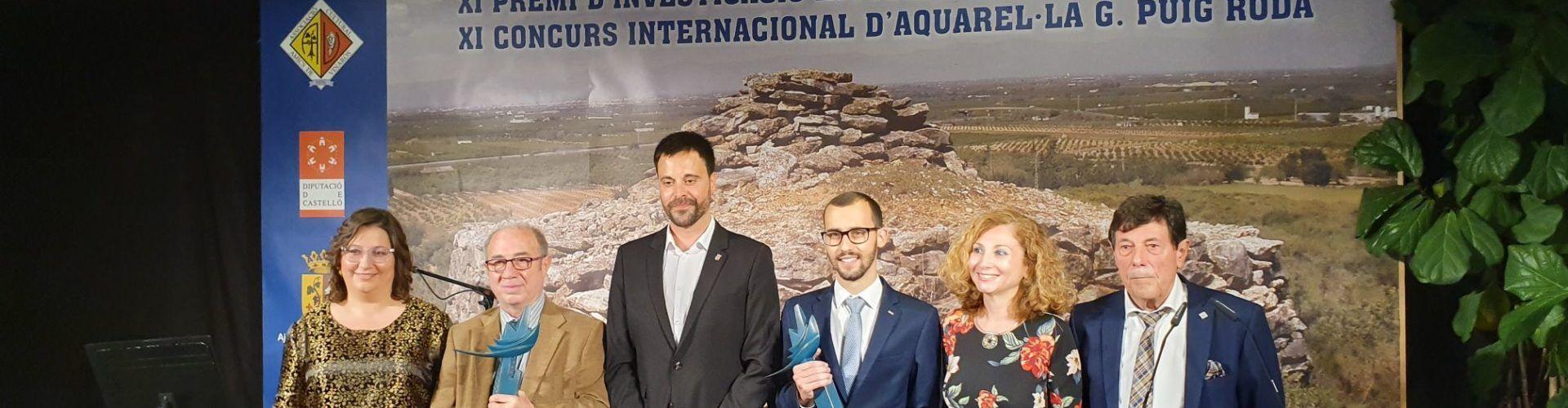 La Nit de la Cultura premia a Vinaròs a Jordi Ayza y Juan Castilla