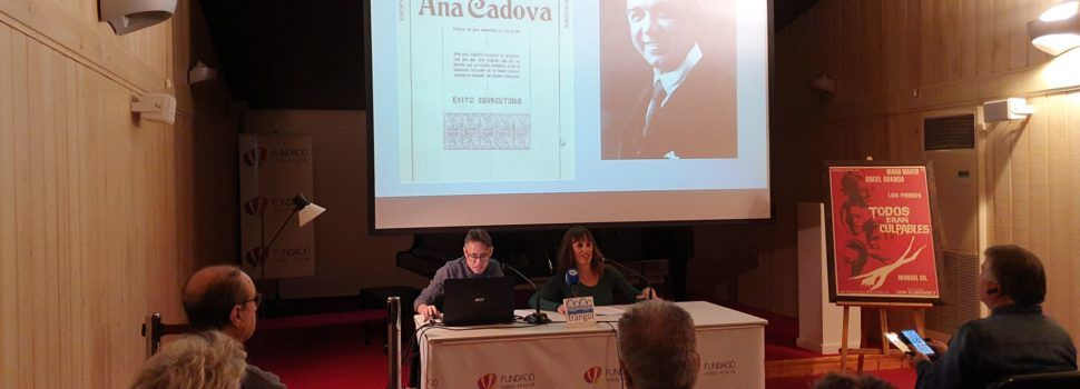 """""""El Maestrat, plató de cine"""" per Alfred Gómez a Caixa Vinaròs"""