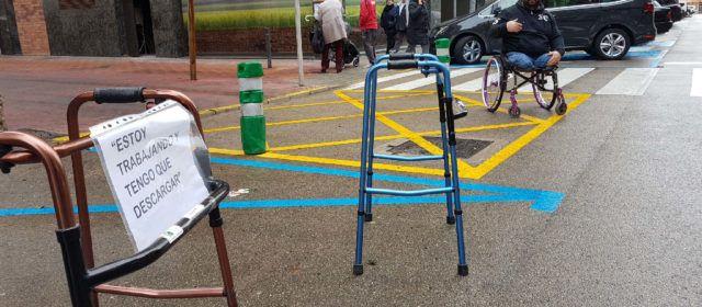 Cocemfe reivindica el buen uso de las plazas para discapacitados